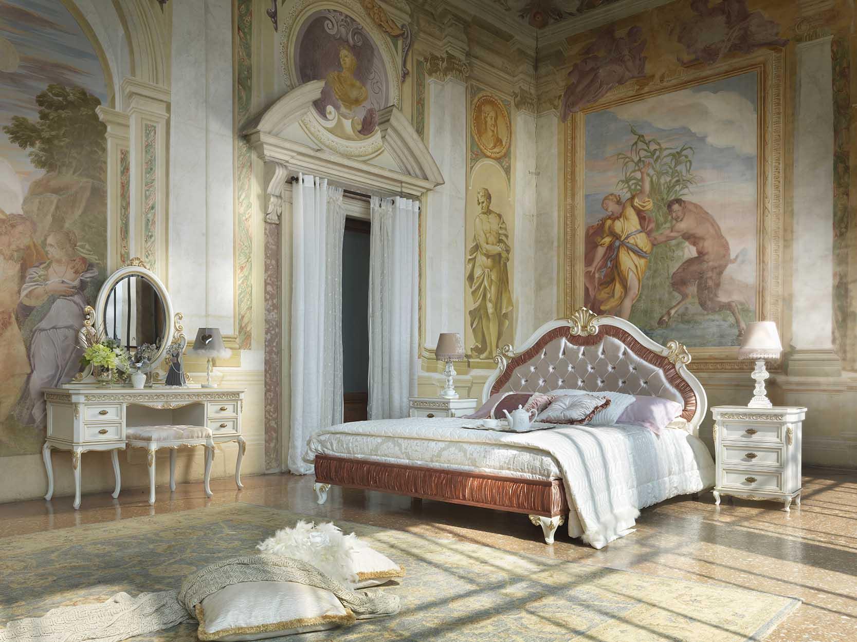 Composizione camera da letto completa di comodino, consolle ...